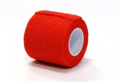Bandaj elastic autoadeziv ROSU - 5 cm 0