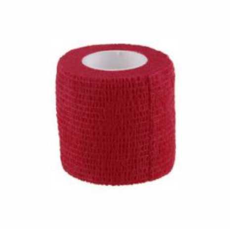 Bandaj elastic autoadeziv ROSU - 5 cm [0]