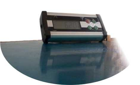 Cantar Veterinar Platforma inox C1 150 KG 50 x 50 CM 2