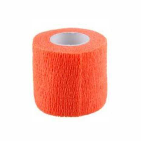 Bandaj elastic autoadeziv PORTOCALIU - 5 cm [0]