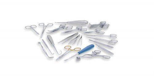 Trusa de chirurgie ptr. tesuturi moi AESCULAP - 27 instrumente 0