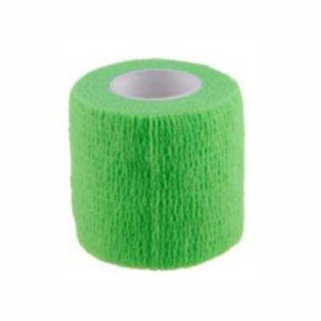 Bandaj elastic autoadeziv VERDE - 7,5 cm [0]