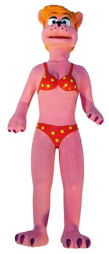 Jucarie caini Pink Lady latex, 31 cm, 12374 0