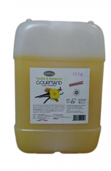 Sampon Gourmand vanilie si scortisoara, 5 litri [0]