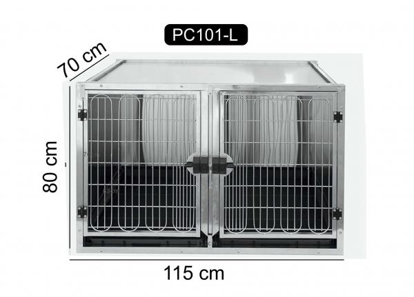Cusca mare din otel inoxidabil, PC-101L 0