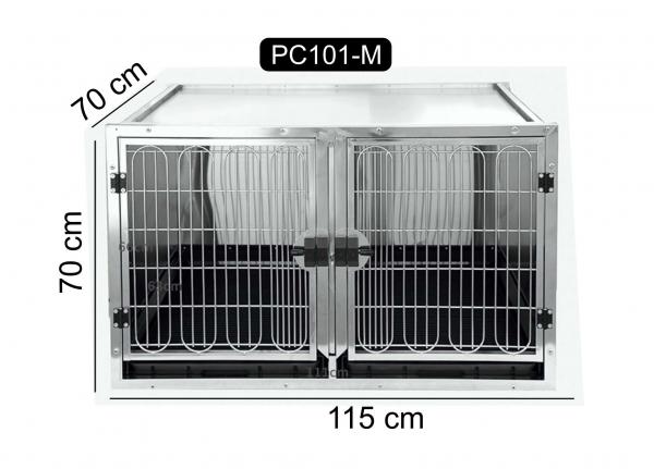 Cusca medie din otel inoxidabil, PC-101M 0