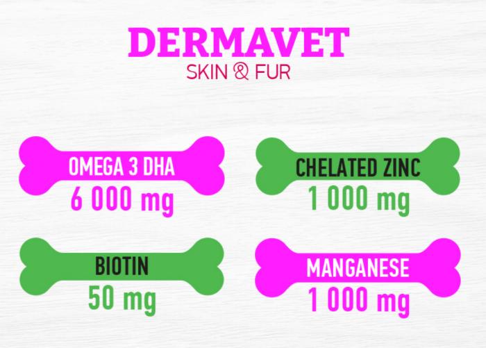 DR VET supliment DERMAVET 500 gr [4]