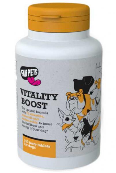 FAB PETS Supliment pentru vitalitate,150 tablete, 0