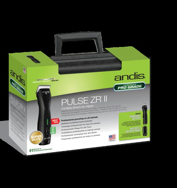 Masina de tuns profesionala, fara fir ANDIS Pulse ZR II (cutit #40), 79040 5