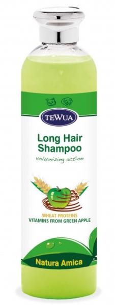 Sampon pentru par lung cu mere verzi 250 ml, Tewua 0