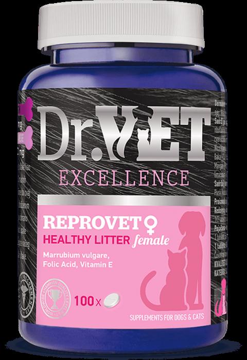 DR VET supliment REPROVET FEMALE 100 gr [0]