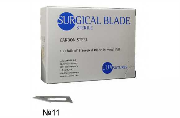 Lame Bisturiu Sterile Otel-Carbon, mar. 11, procedura Cherry eye [0]