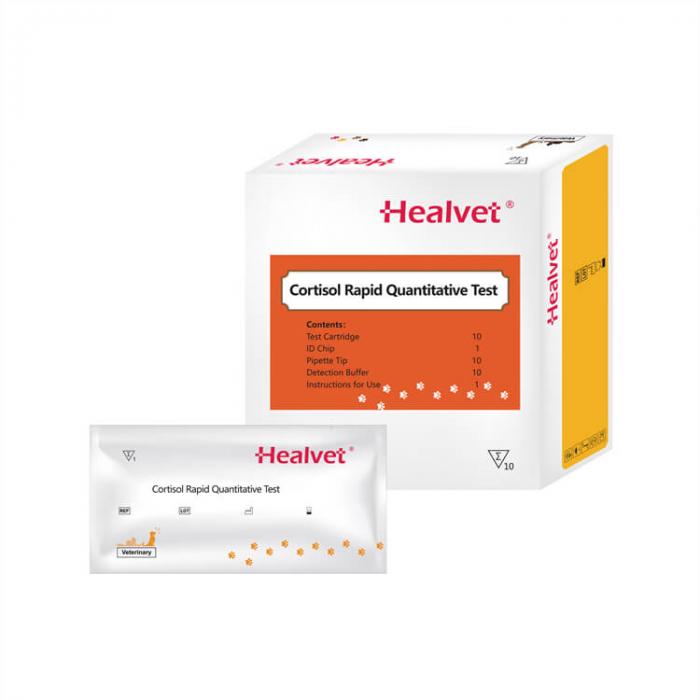 Test rapid Q Cortizol pentru analizor imunofluorescență veterinară Healvet [0]