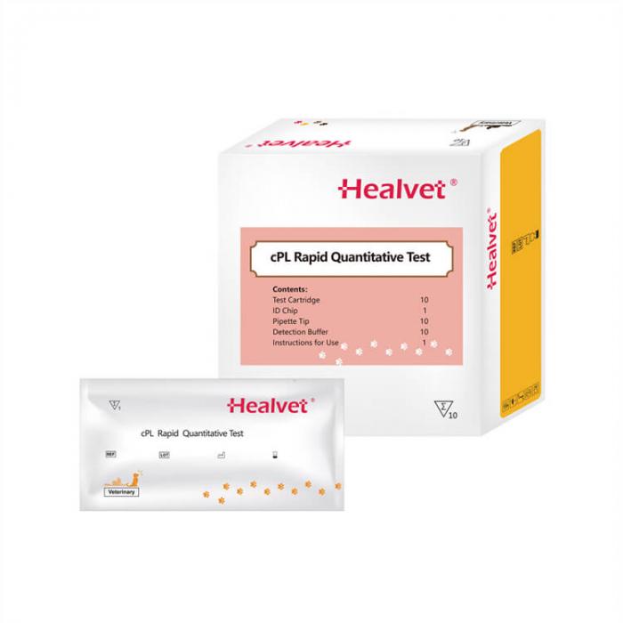 Test rapid Q CPL pentru analizor imunofluorescență veterinară Healvet [0]