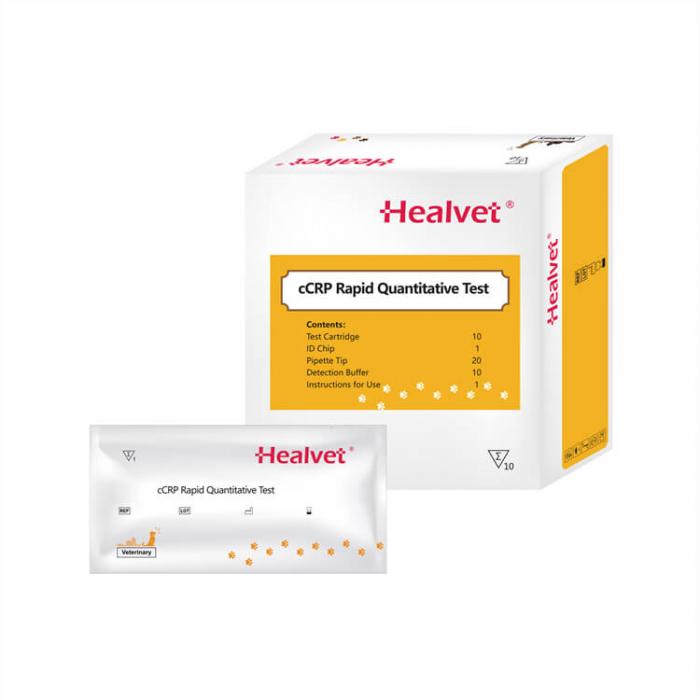 Test rapid Q CRP pentru analizor imunofluorescență veterinară Healvet [0]