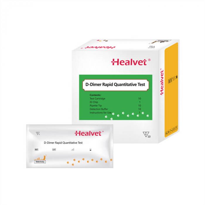 Test rapid Q D-Dimer pentru analizor imunofluorescență veterinară Healvet [0]