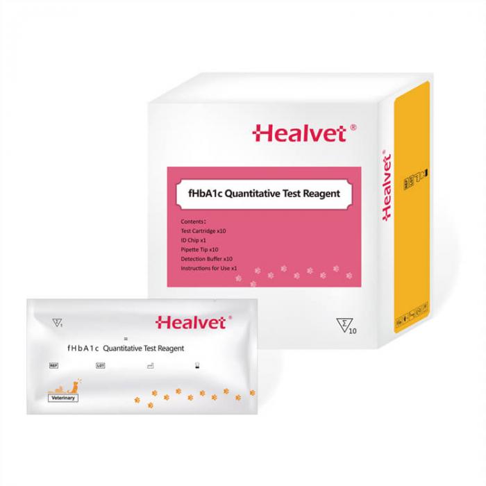 Test rapid Q fHbA1C pentru analizor imunofluorescență veterinară Healvet [0]