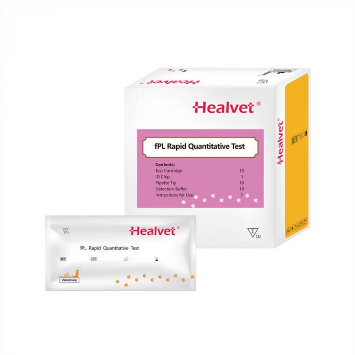 Test rapid Q fPL pentru analizor imunofluorescență veterinară Healvet [0]