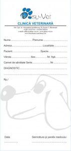 Retetare personalizate, 99 x 210 mm, 100 file