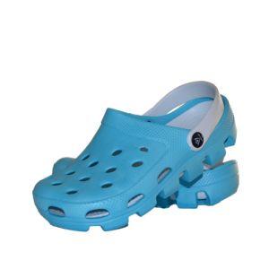 Papuci medicali culoare bleu/alb