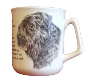 Cana ceramica Bouvier des Flandres - E06-10220