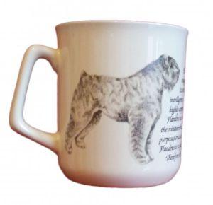 Cana ceramica Bouvier des Flandres - E06-10221