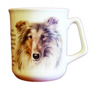 Cana ceramica The Scottish Collie - E06-10790