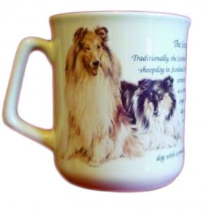 Cana ceramica The Scottish Collie - E06-10791