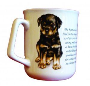 Cana ceramica Rottweiler - E06-10251