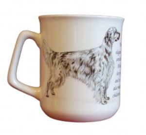 Cana ceramica The English Setter - E06-11400