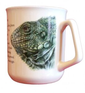 Cana ceramica The Green Iguana - E06-10970