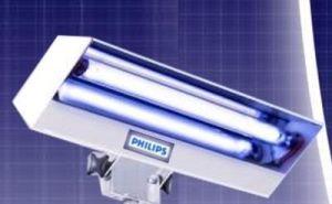 Lampa bactericida LBA 8W fixa, tub Philips / Osram