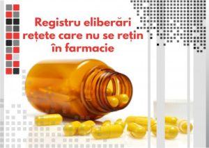 Registru eliberari retete care nu se retin in farmacii0