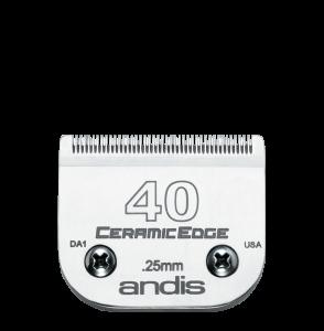 Cutit ceramic ANDIS, 0.25mm, Size 40