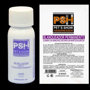 Pudra PSH pentru albire permanenta, 40 g + Revelador