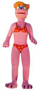 Jucarie caini Pink Lady latex, 31 cm, 12374
