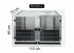 Cusca mare din otel inoxidabil, PC-101L0