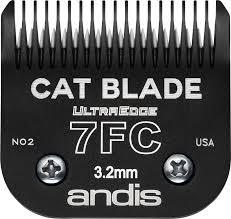 Cutit ANDIS pentru blana pisicilor, size 7FC, 3.2 mm