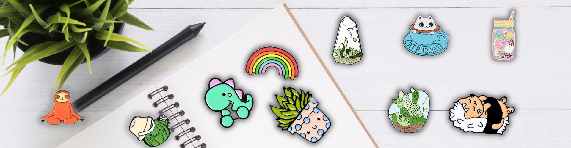 Banner pins