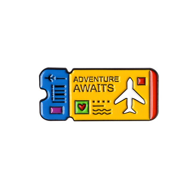 Adventure Yellow Ticket [0]