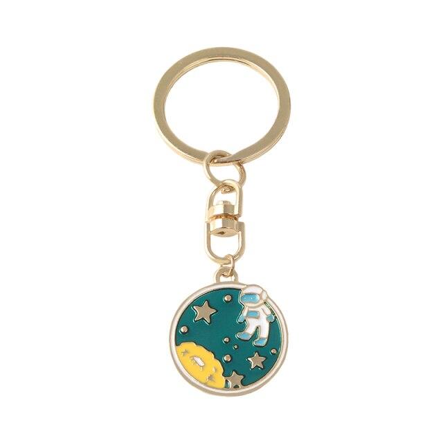 Astronaut Landing Keychain [0]