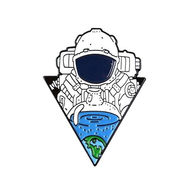 Insigna Astronaut Drink Soda [0]