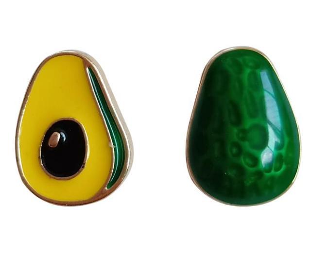 Avocado Asymmetric Earrings [0]