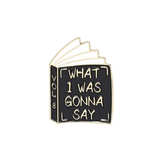 Insigna Black Funny Book 0