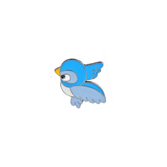 Insigna Blue Bird Facing Left [0]