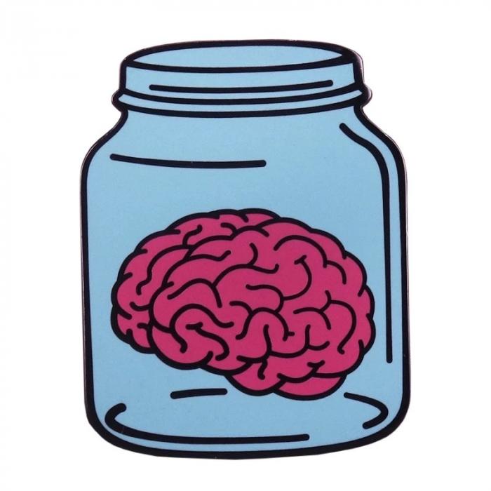 Insigna Brain in a Jar [0]