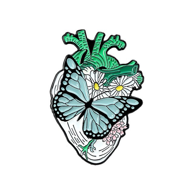 Butterfly over a Heart [0]