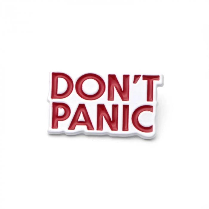 Insigna Don't Panic [0]