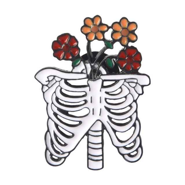 Flowers inside a Rib Cage [0]
