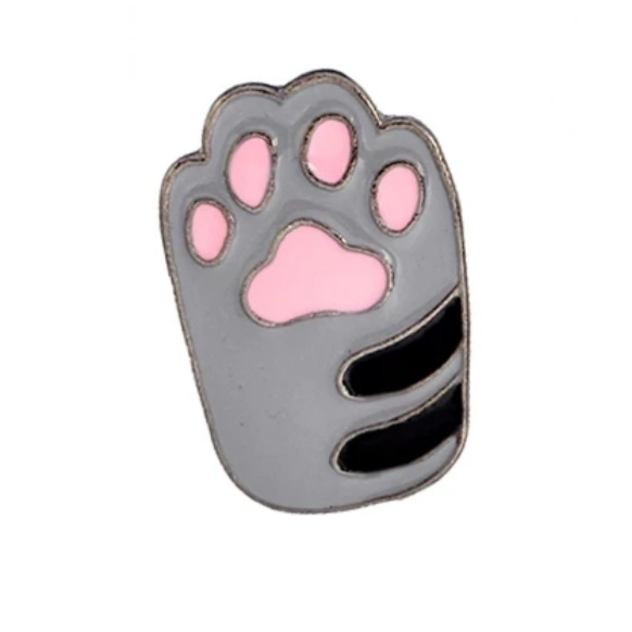 Insigna Grey Cat Paw 0